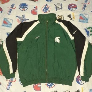 90s Reversible Michigan State Spartans Jacket Coat